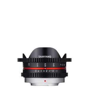 SAMYANG Cine 7.5mm T3.8 VDSLR ED AS UMC CS