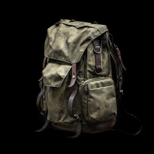 [WOTANCRAFT] COMMANDER BACKPACK - Ash green